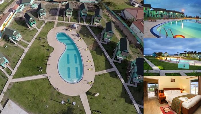 Flourish Wellness Resort photo collage