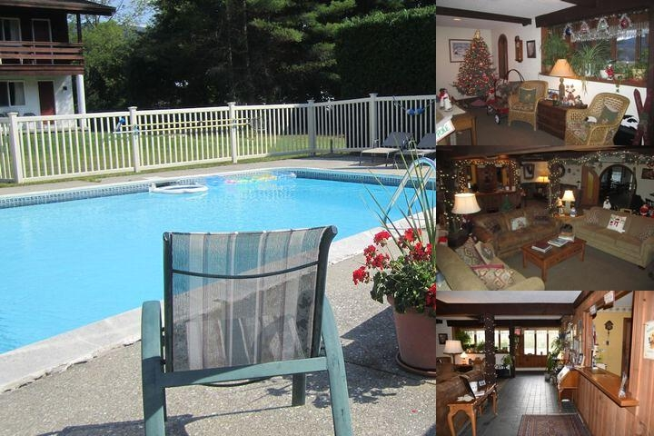 The Olympia Lodge photo collage