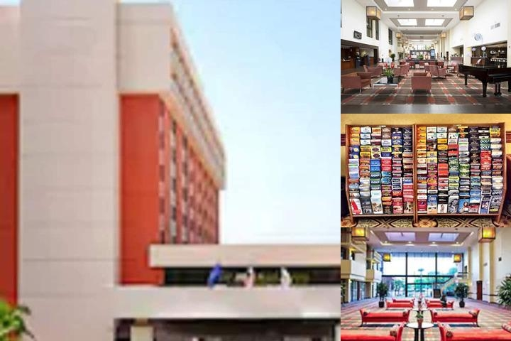Ontario Airport Hotel photo collage