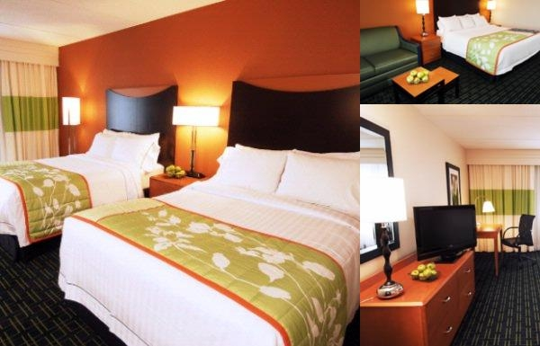 Fairfield Inn Rochester Airport photo collage