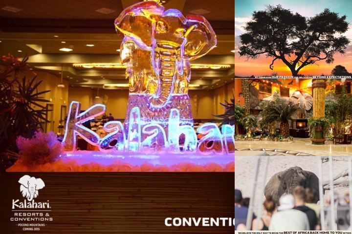 Kalahari Resort & Convention Center photo collage