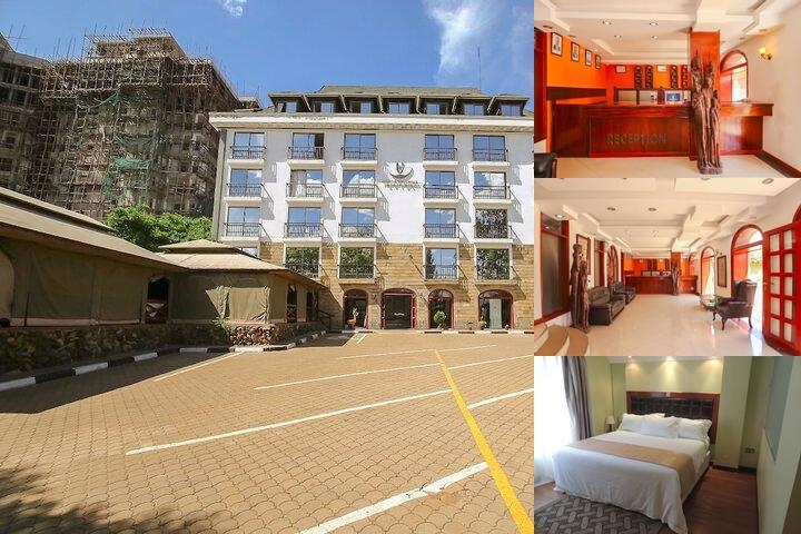 Nairobi Upperhill Hotel photo collage