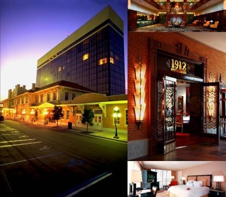 Pensacola Grand Hotel photo collage