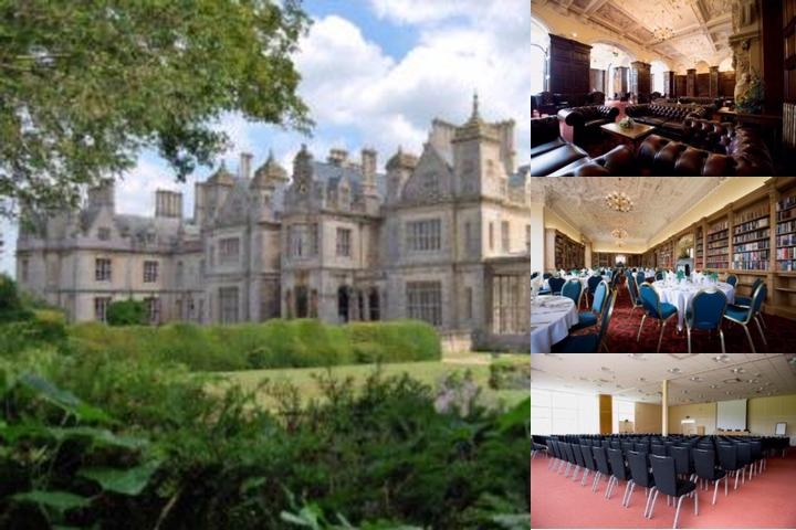 Stoke Rochford Hall photo collage