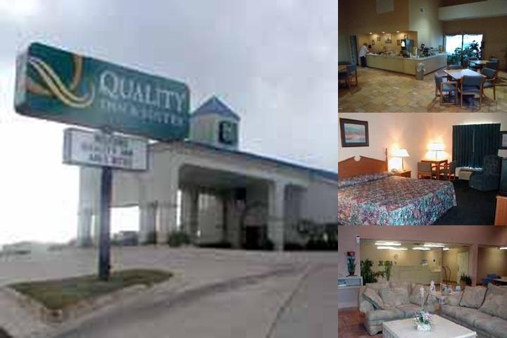 Americas Best Value Inn Manor photo collage
