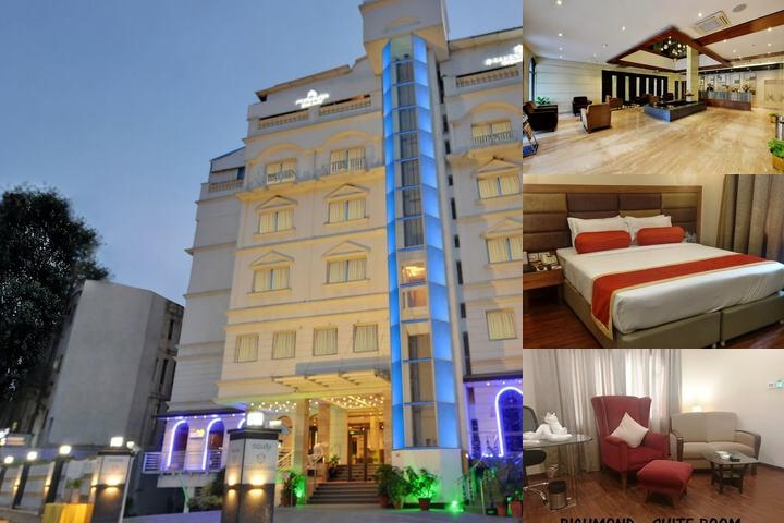 Hotel Ramanashree Bangalore photo collage