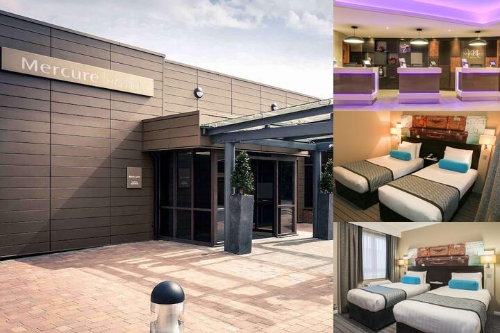 Mercure London Heathrow photo collage