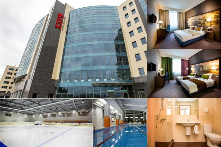 Rigaland Hotel Moscow photo collage