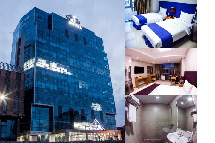 J Hotel photo collage