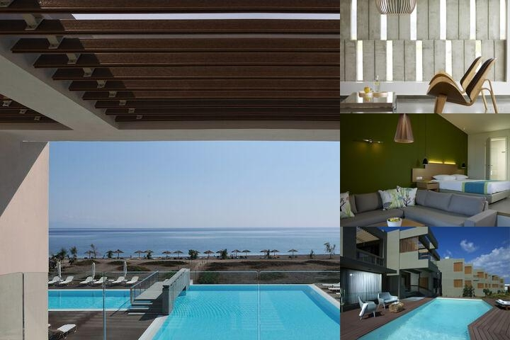 Thalatta Seaside Hotel photo collage