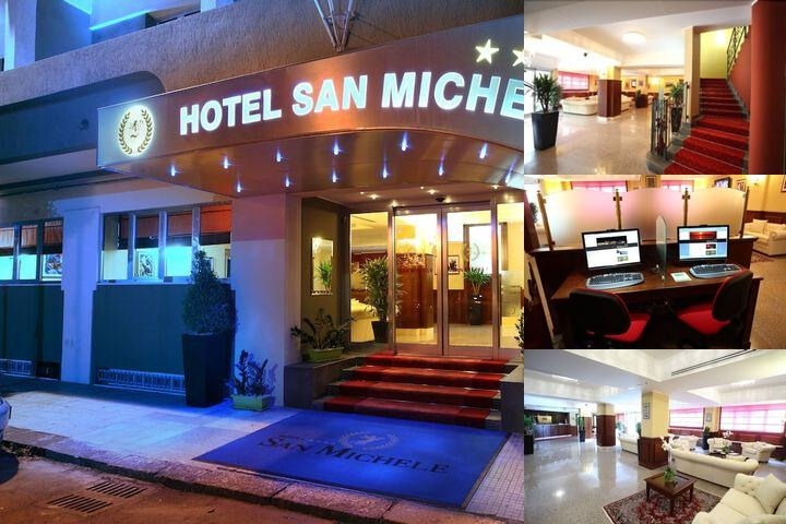San Michele Hotel photo collage