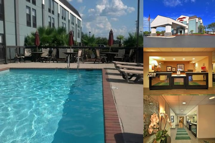 Hampton Inn Natchitoches photo collage
