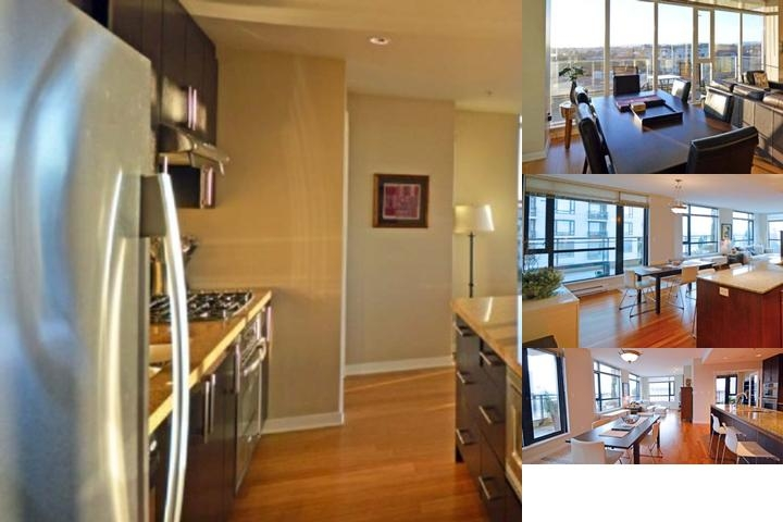 Premiere Suites photo collage