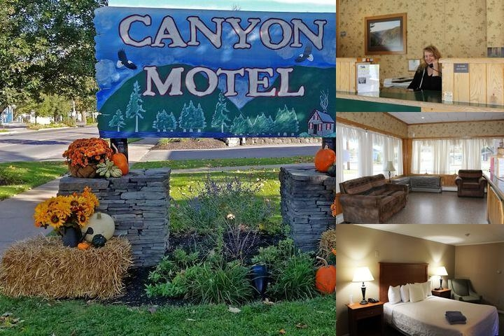 Canyon Motel photo collage