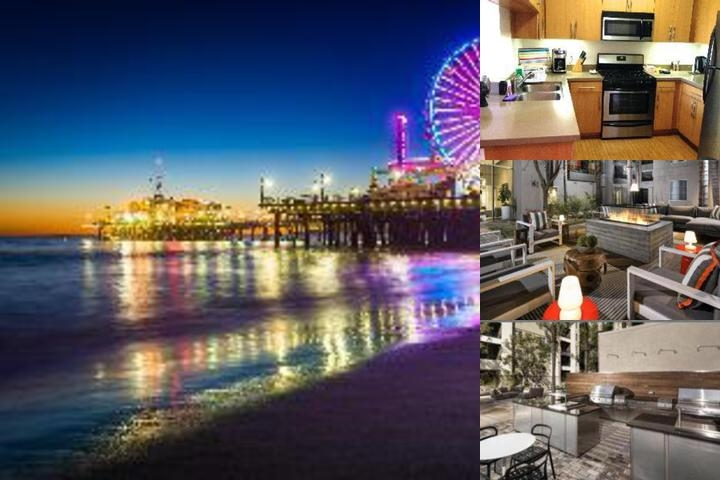 Santa Monica Corporate Center Suites photo collage