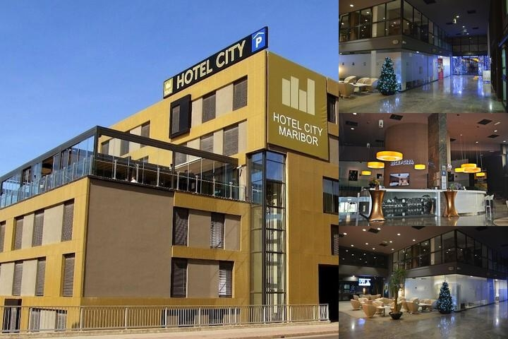 Hotel City Maribor photo collage