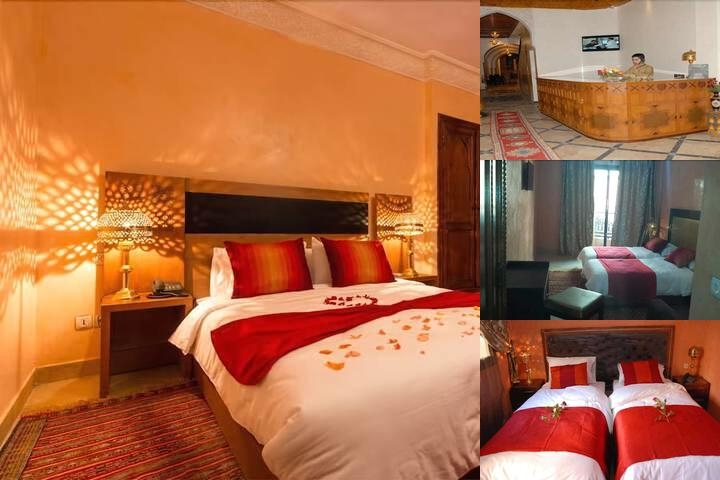 Hotel Marrakech House photo collage
