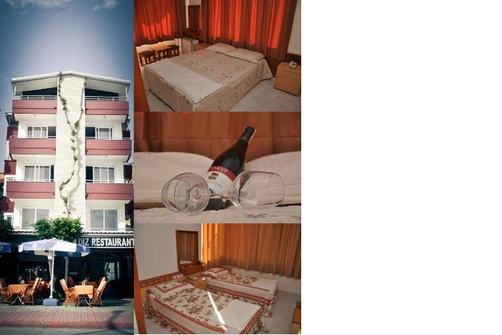 Kleopatra Beach Yildiz Hotel photo collage