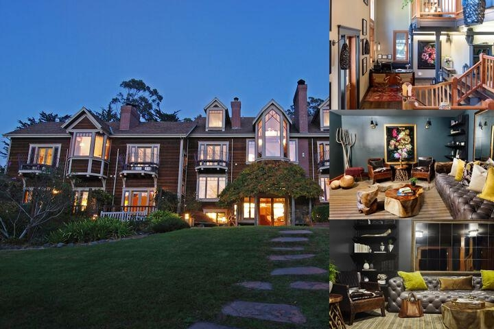 The Lodge at Point Reyes photo collage