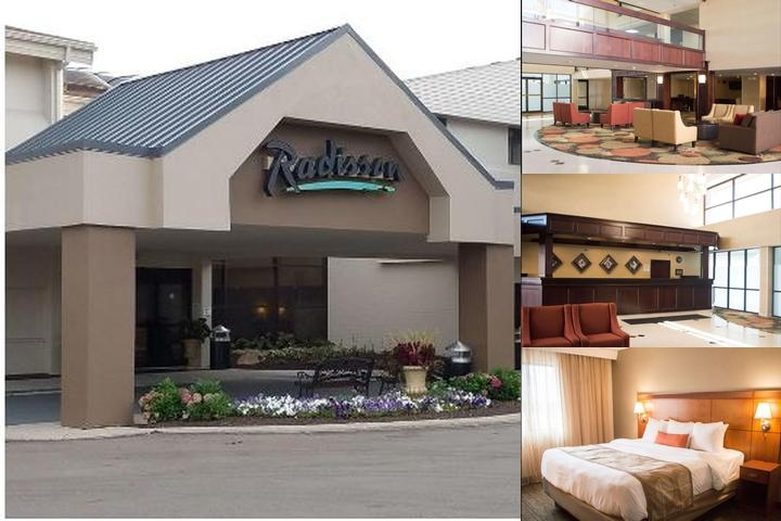Radisson Detroit Farmington Hills photo collage