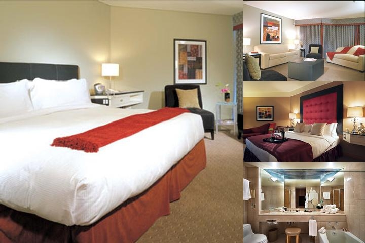 Metropolitan Hotel Vancouver photo collage