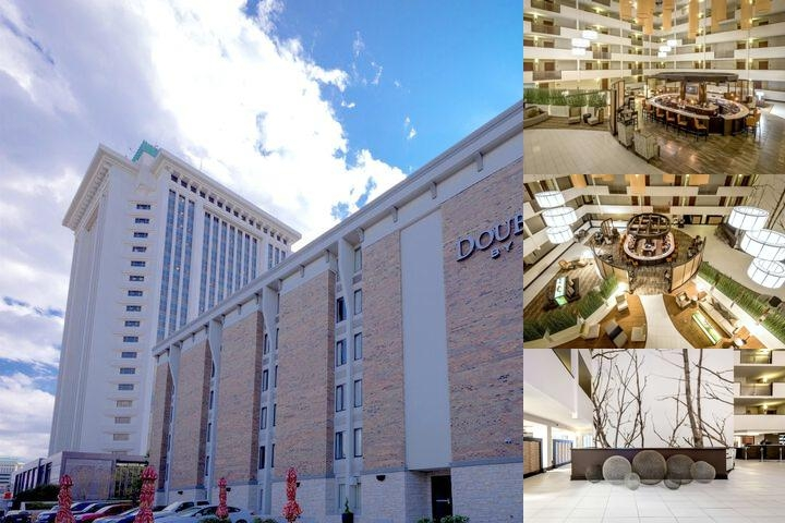 Doubletree by Hilton Montgomery Downtown photo collage