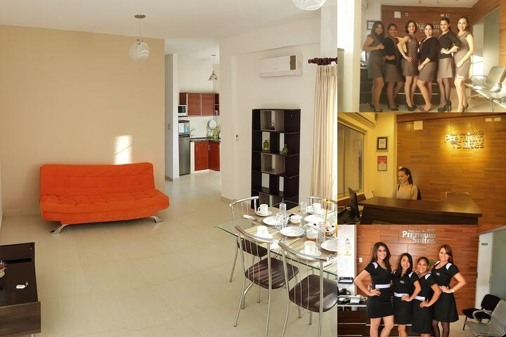 Aparthotel Premium Suites Santa Cruz photo collage