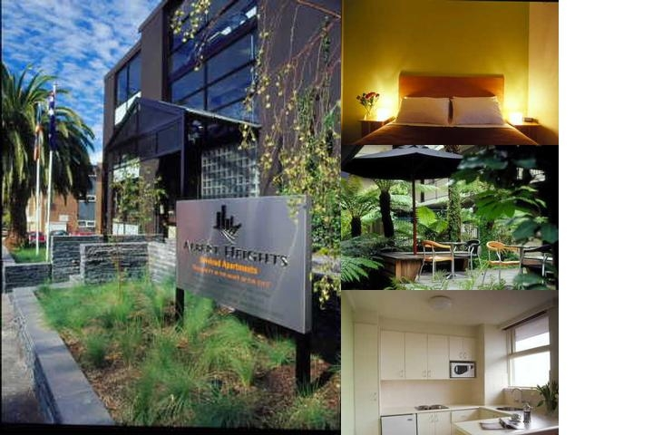 Albert Heights Serviced Apartments photo collage