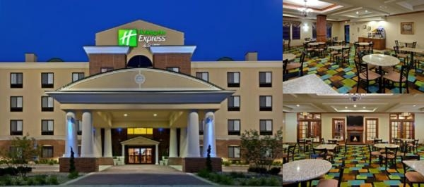 Anderson Holiday Inn Express & Suites photo collage