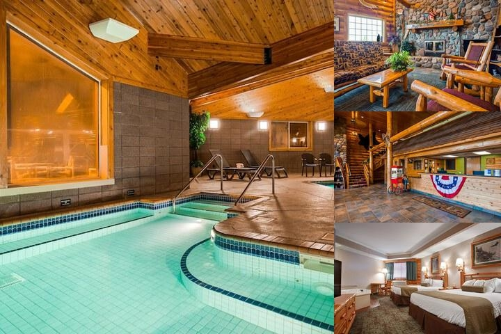 Best Western Northwoods Lodge photo collage