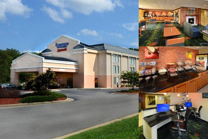 Fairfield Inn & Suites Hopewell Va photo collage