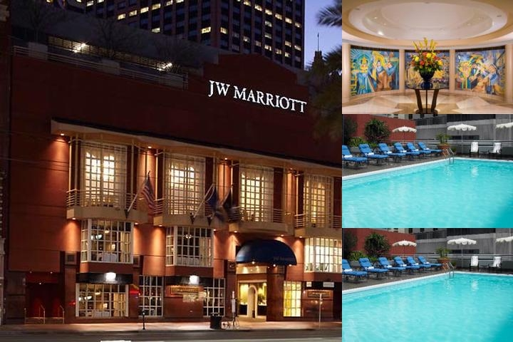 JW New Orleans Marriott photo collage