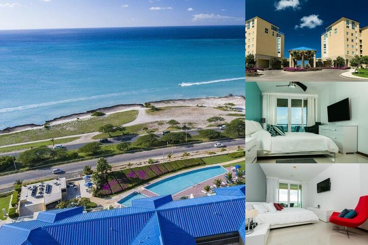 Blue Residences Aruba photo collage