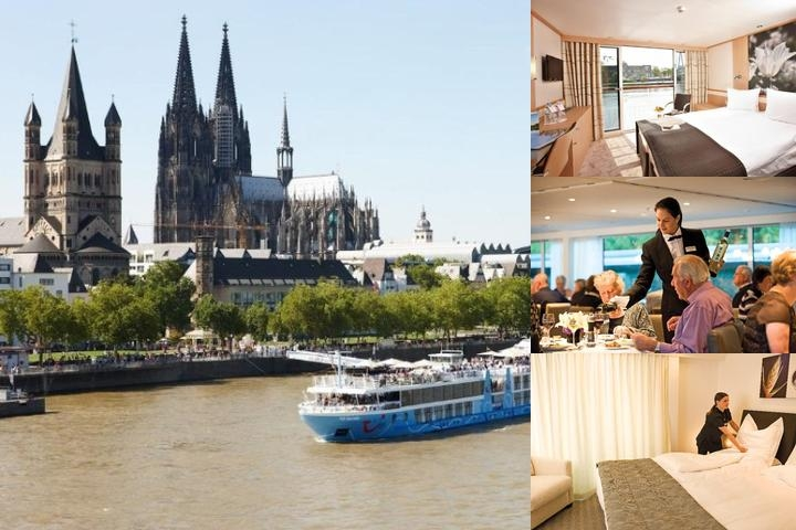 Faircruise Business Hotelship Düsseldorf photo collage