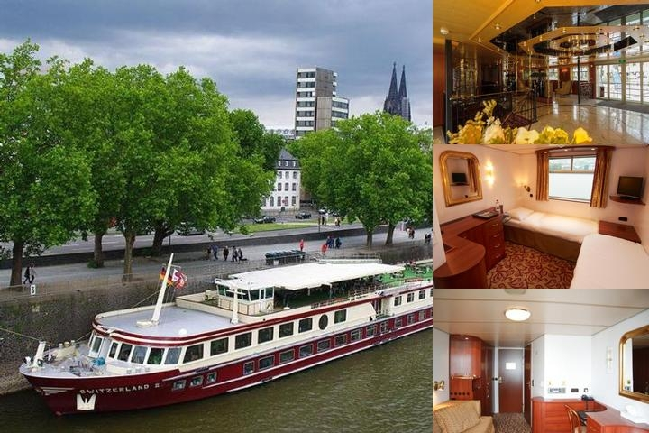 Faircruise Business Hotelship Cologne photo collage