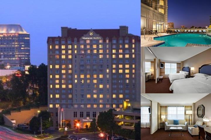 Sheraton Suites Galleria Atlanta photo collage