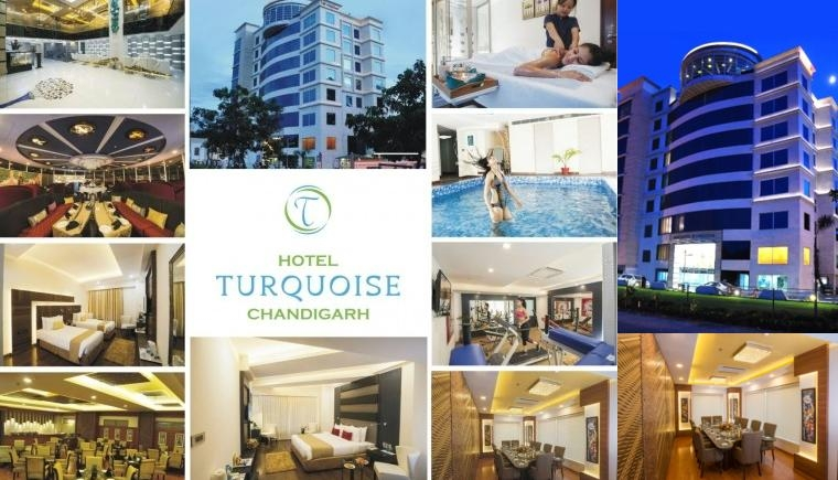 Hotel Turquoise Chandigarh photo collage