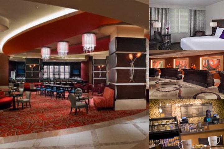 New Orleans Marriott photo collage