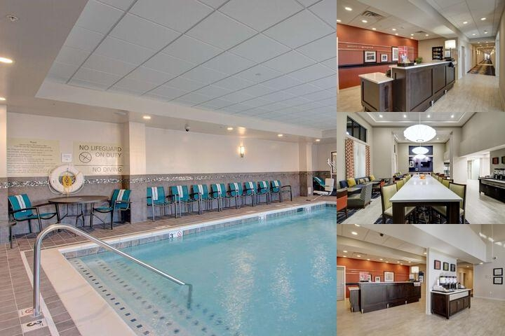 Hampton Inn Springfield Downtown photo collage