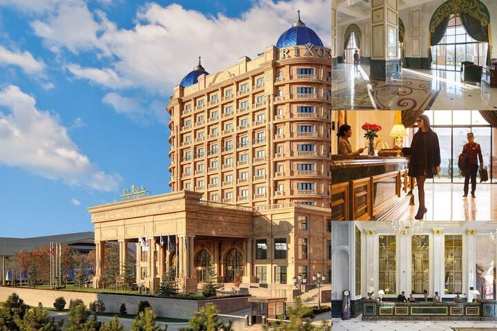 Rixos Khadisha Shymkent photo collage