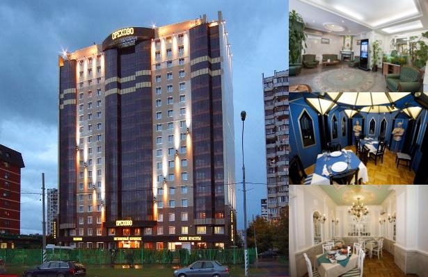 Hotel Orekhovo photo collage