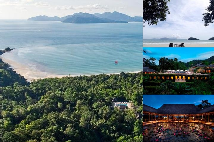 The Datai Langkawi photo collage