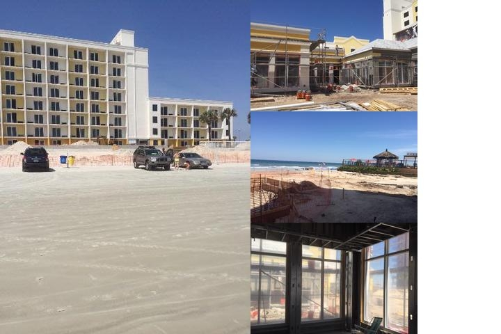 Hilton Garden Inn Daytona Beach Oceanfront photo collage