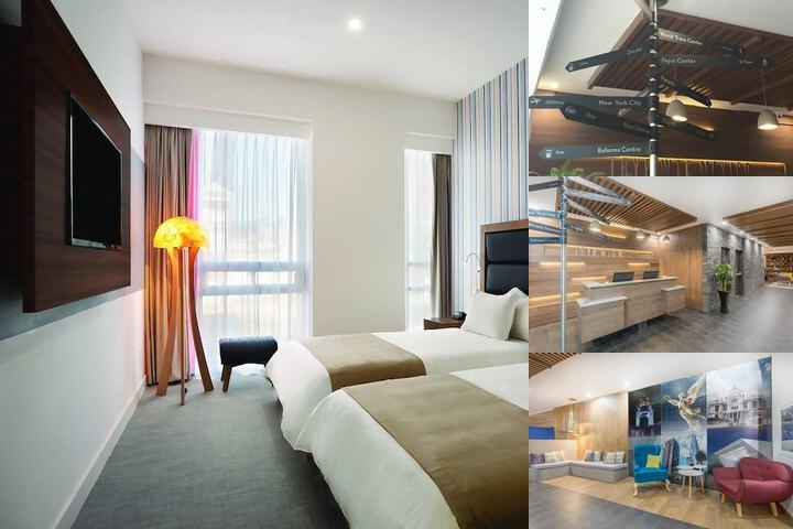 Tryp by Wyndham Mexico City World Trade Center Area Hotel photo collage