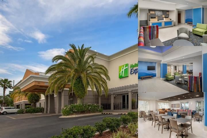 Holiday Inn Express Jacksonville Beach photo collage