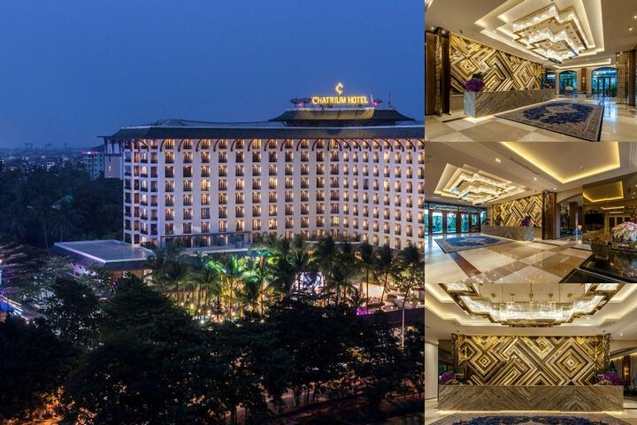 Chatrium Hotel Royal Lake Yangon photo collage