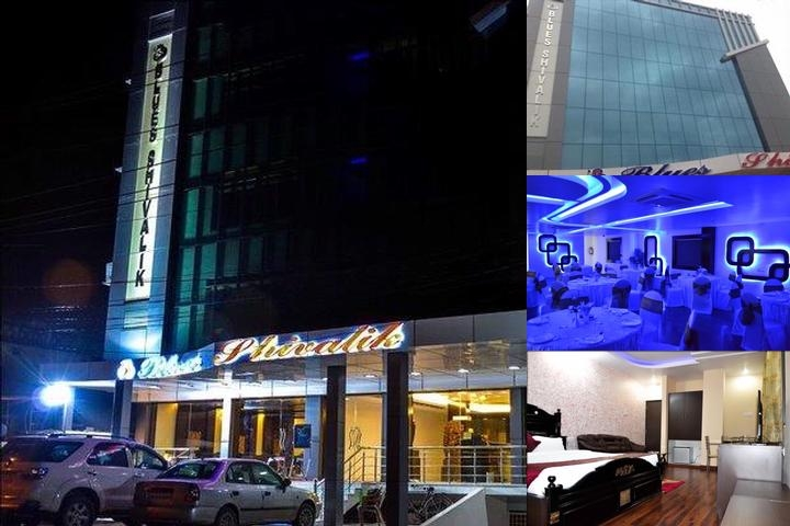 Hotel Blues Shivalik photo collage
