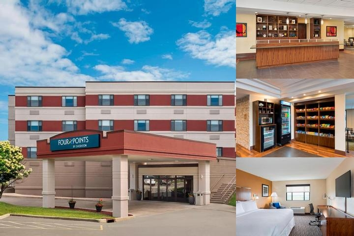 Clarion Hotel Milwaukee Airport photo collage