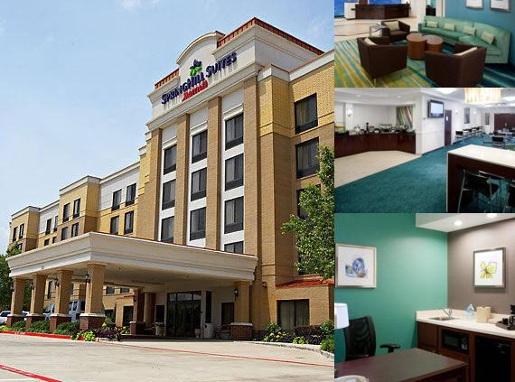 Springhill Suites Addison photo collage