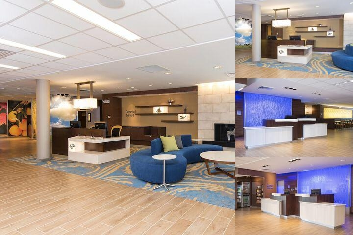 Fairfield Inn & Suites by Marriott Tampa Westshore photo collage